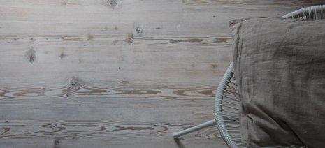 Fussboden Draufsicht von Oben Malmoe Pine Heller Fussboden