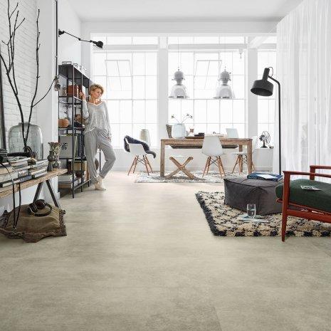 Designboden #NoordFactory DB201W06 Loft Wohnzimmer Wohnbereich Esszimmer Vinylboden