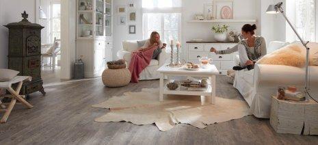 Wohnwelt Fußboden im Wohnzimmer | Hochwertige Bodenlösung - wineo