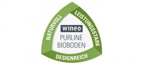 wineo Bodenbelag Purline Bioboden Logo
