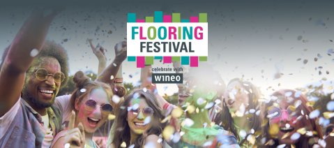 wineo Flooring festival Domotex 2020