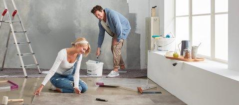 Velegung Renovierung Vinylboden wineo 600 Rigid Designboden
