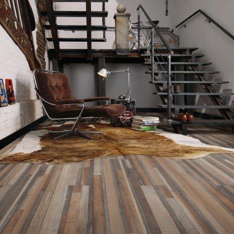 wineo Laminatboden verschiedene Holzdekore im Haus