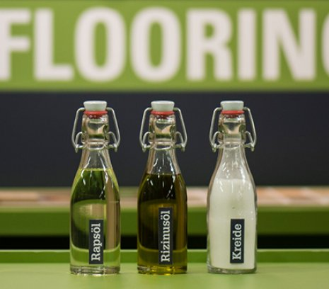PURLINE Bioboden Biorezeptur Rapsöl Rizinusöl Kreide