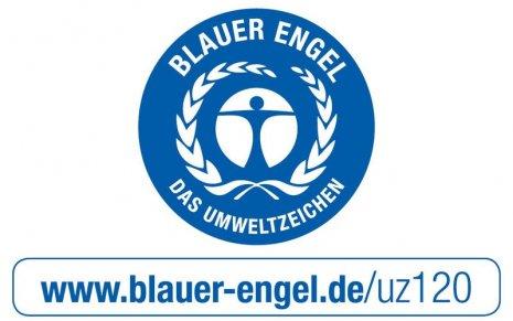 Siegel PURLINE Bioboden Blauer Engel