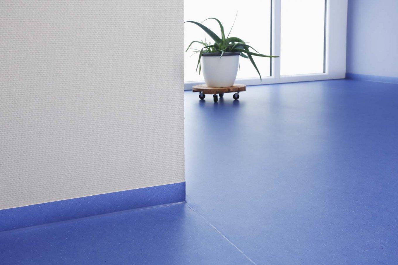 wineo PURLINE Bioboden Blau Flur Pflanze