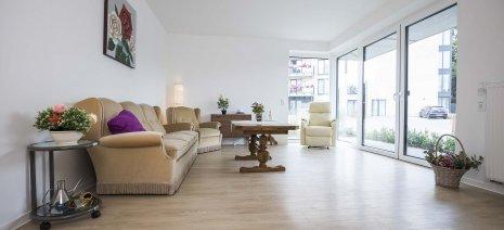 wineo Designboden Wohnzimmer