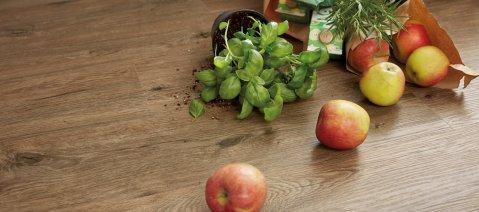 wineo PURLINE Bioboden Küche Obst