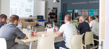Produktschulung Kundenseminare Seminarraum