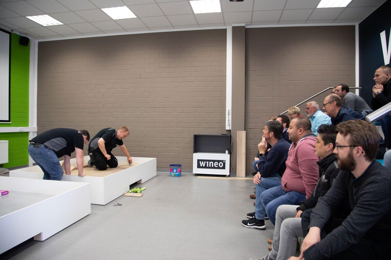 wineo Schulungen Seminare Bodenverlegung erklärt