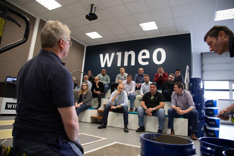 wineo Seminare Schulung Wie bereite ich einen Untergrund vor