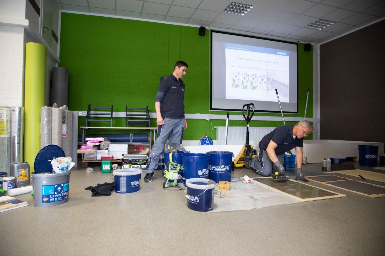 wineo Seminare Untergrundvorbereitung Schulung