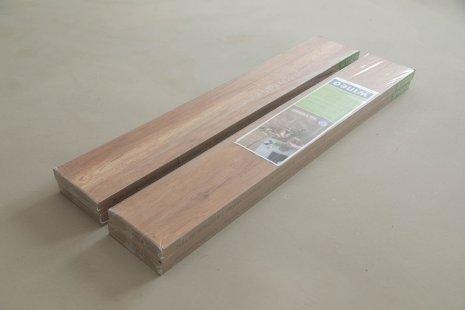 Verlegung wineo 1000 zum Klicken PURLINE Bioboden Holzoptik Paket