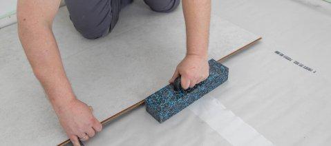 Verlegung wineo 1200 stone Multi-Layer PURLINE Bioboden selbst verlegen Montagehilfe