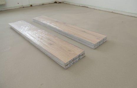 Verlegung wineo 1200 wood semi-rigid PURLINE Bioboden Vorbereitung Akklimatisierung